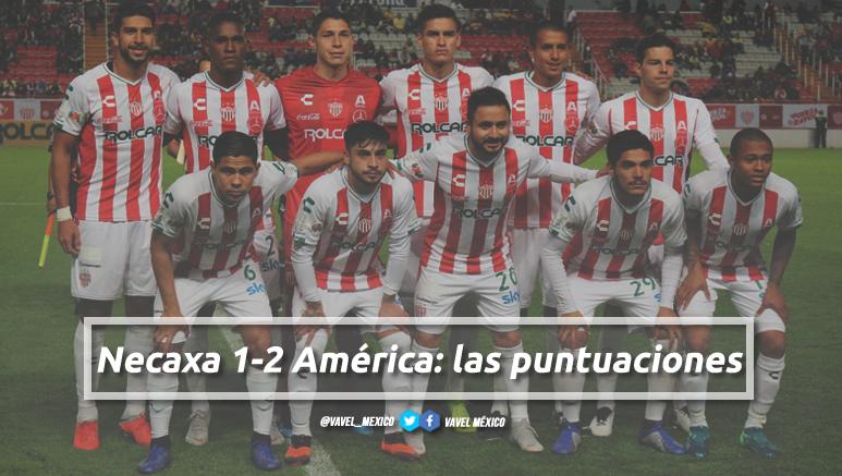 Necaxa 1-2 América: puntuaciones de Necaxa en la jornada 2 de la Copa MX Clausura 2019