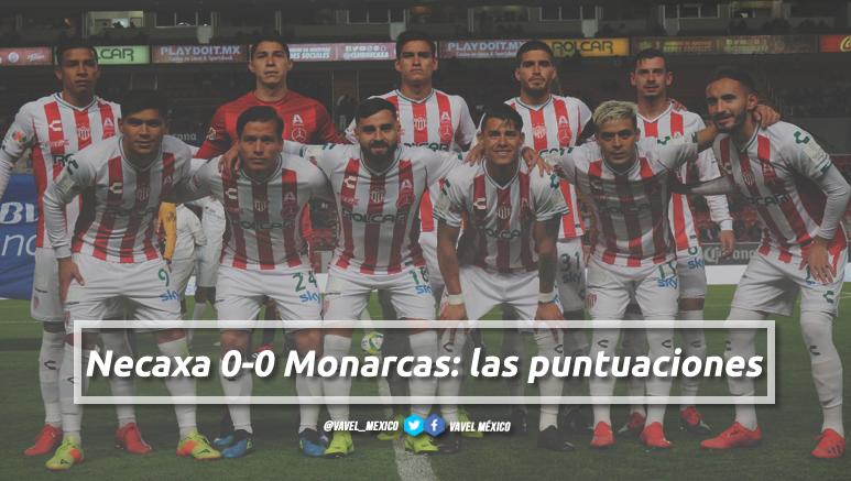 Necaxa 0-0 Monarcas: las puntuaciones de Necaxa en la jornada 4 de la Liga MX Clausura 2019