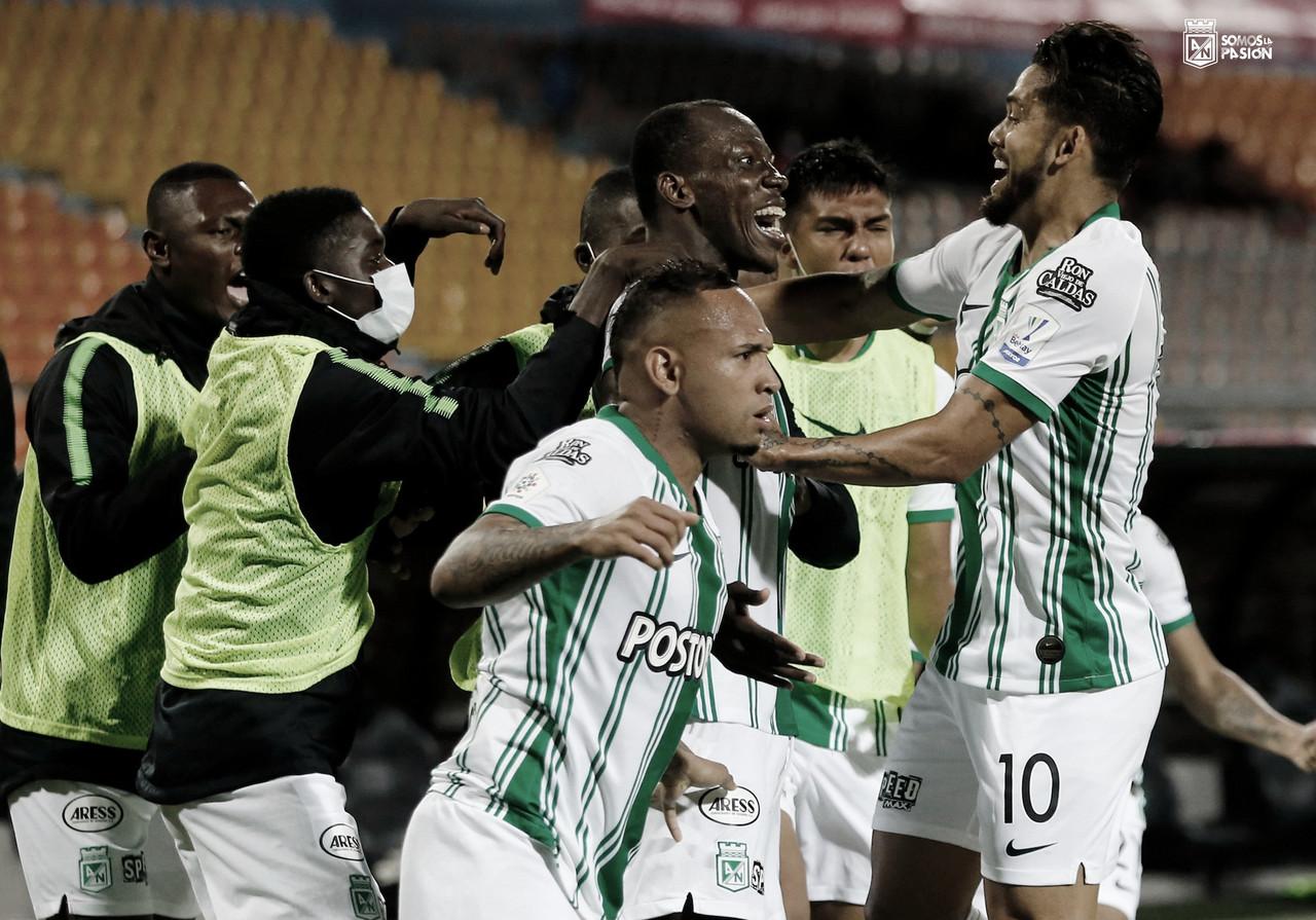 Puntuaciones de Atlético Nacional tras su victoria frente al Deportivo Pasto