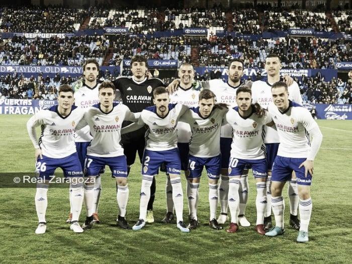 Real Zaragoza - CD Lugo, puntuaciones del Real Zaragoza, jornada 26 de la Liga 1,2,3