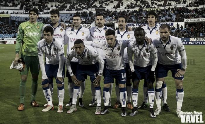 Real Zaragoza – UE Llagostera: puntuaciones del R. Zaragoza, jornada 21