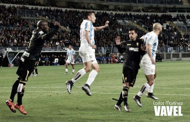Málaga CF - Granada CF: puntuaciones Málaga CF, jornada 13 Liga BBVA