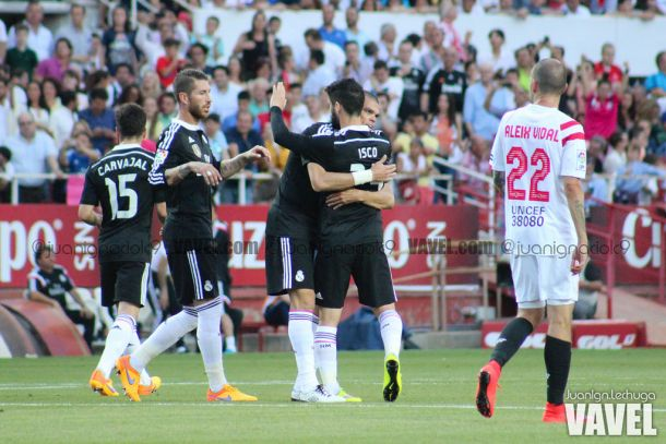 Sevilla FC - Real Madrid, puntuaciones Real Madrid, 35ª jornada Liga BBVA
