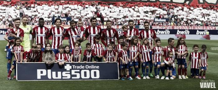 Puntuaciones Atlético de Madrid: temporada 2016/2017