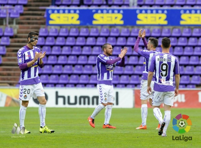 Real Valladolid - UD Almería: puntuaciones del Real Valladolid, jornada 32