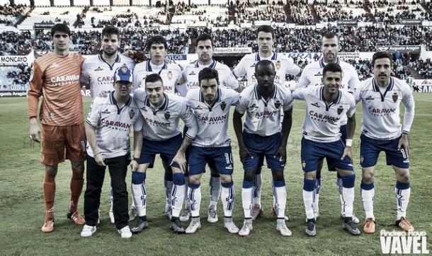 Real Zaragoza - SD Ponferradina: puntuaciones del R. Zaragoza, jornada 15