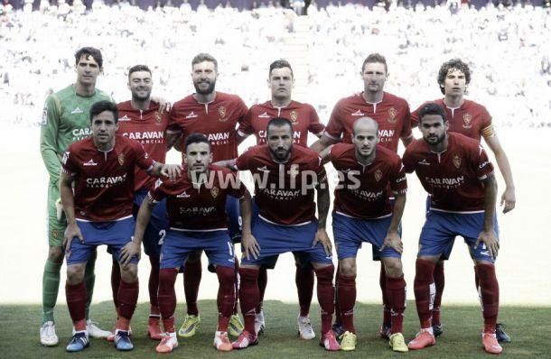 Real Valladolid- Real Zaragoza: puntuaciones del R. Zaragoza, jornada 40