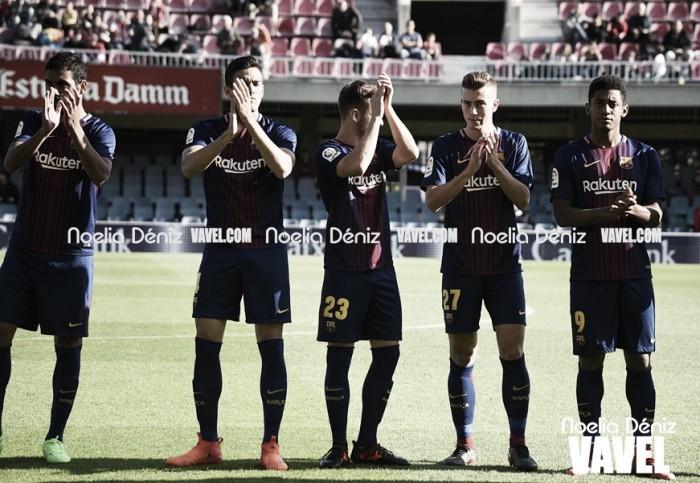 Reus - FC Barcelona B: puntuaciones del encuentro de la decimoséptima jornada de la Liga 123