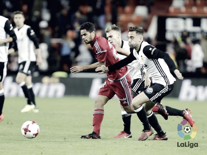 Puntuaciones Valencia - Real Zaragoza: puntuaciones Real Zaragoza, diesciseisavos de Copa del Rey