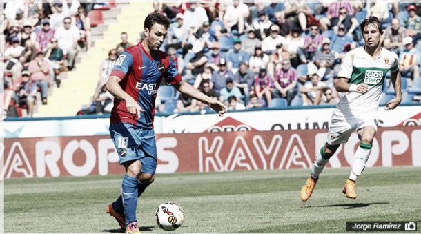 Levante-Elche, puntuaciones del Levante, jornada 38 de la Liga BBVA