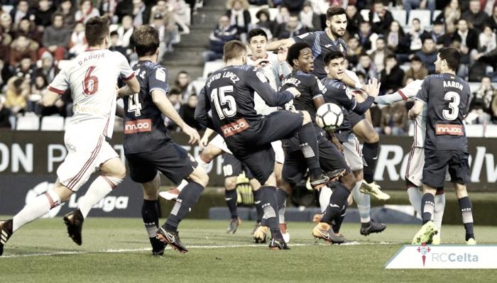 RC Celta - RCD Espanyol: puntuaciones del Celta de Vigo, jornada 23 de la Liga Santander