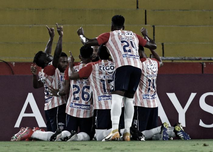 Puntuaciones en Junior tras su empate frente a Fluminense en Copa Libertadores