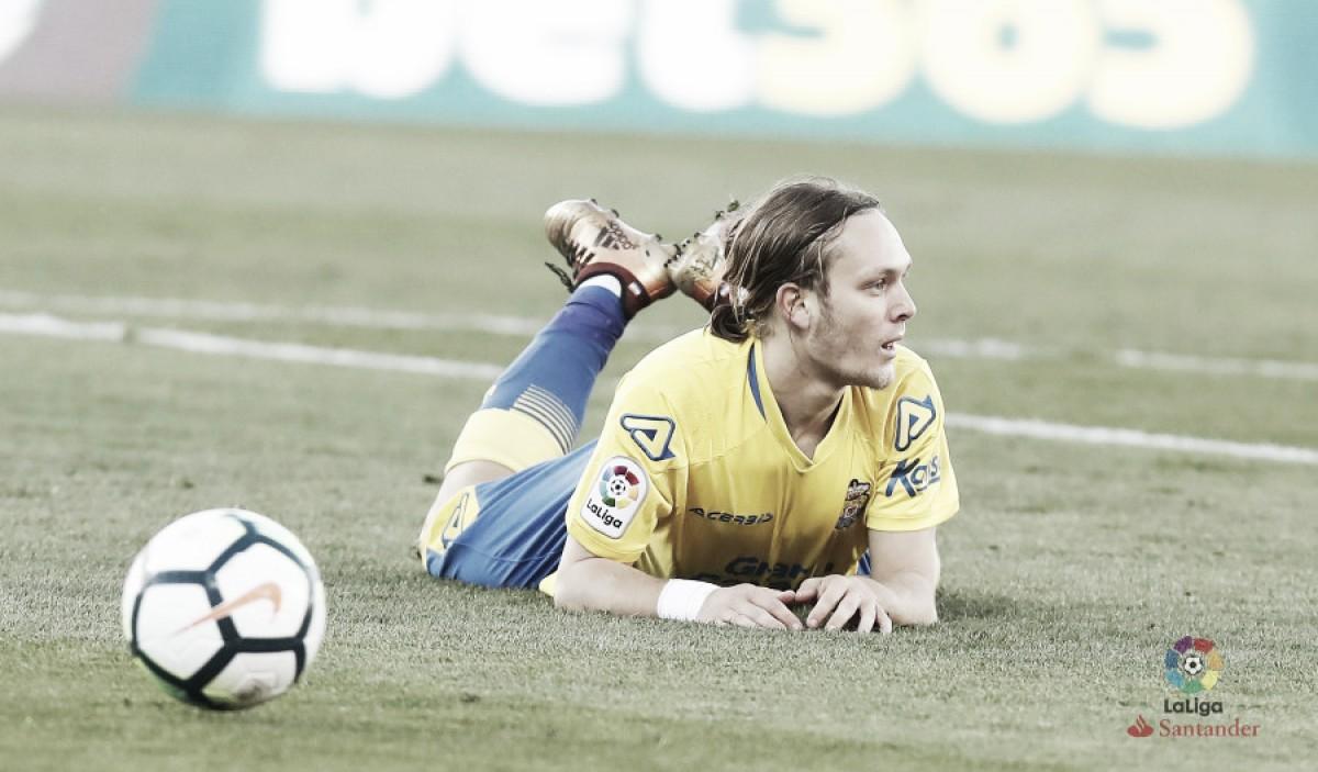 Leganés - UD Las Palmas: puntuaciones de Las Palmas, jornada 25 de Liga 2018