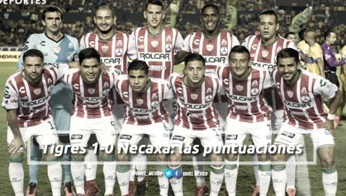 Tigres 1-0 Necaxa: puntuaciones de Necaxa en la jornada 16 de la Liga Bancomer MX Apertura 2017