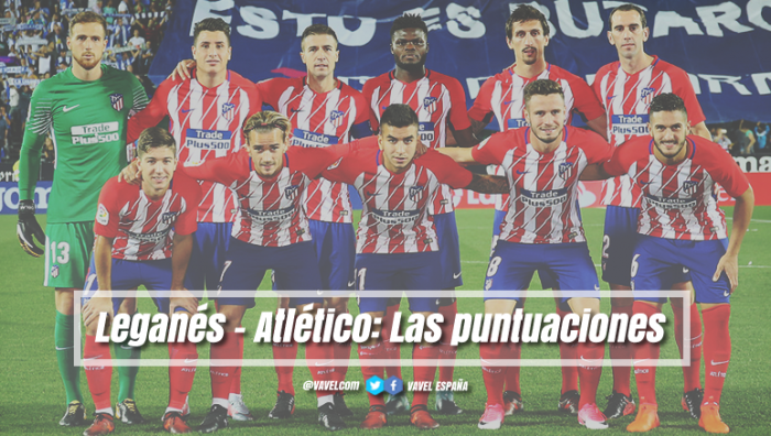 Leganés - Atlético de Madrid: puntuaciones Atleti, 7ª jornada Liga