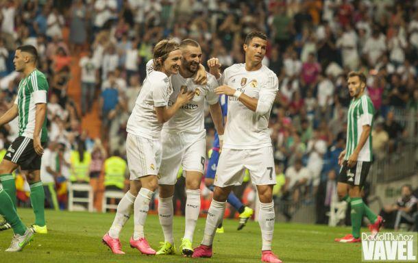 Real Madrid - Real Betis, puntuaciones del Madrid, jornada 2 de la Liga BBVA