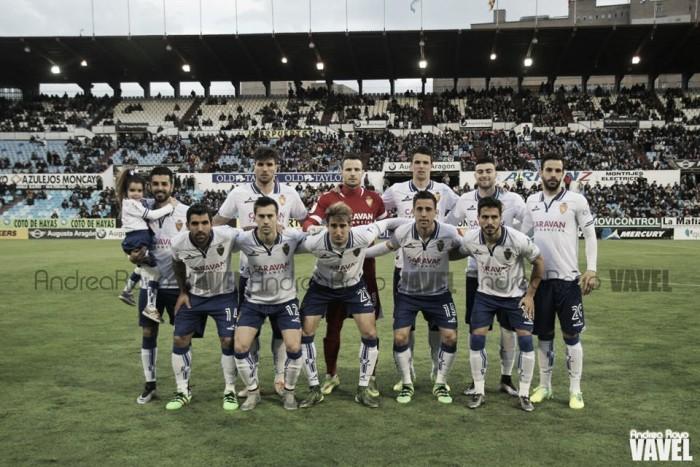 Real Zaragoza - Leganés: puntuaciones Real Zaragoza, jornada 24 de la Liga Adelante