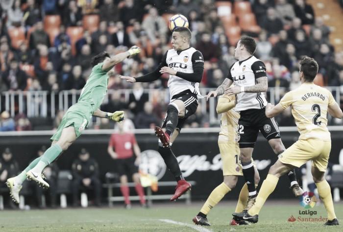Valencia-Girona: puntuaciones del Girona en la jornada 18