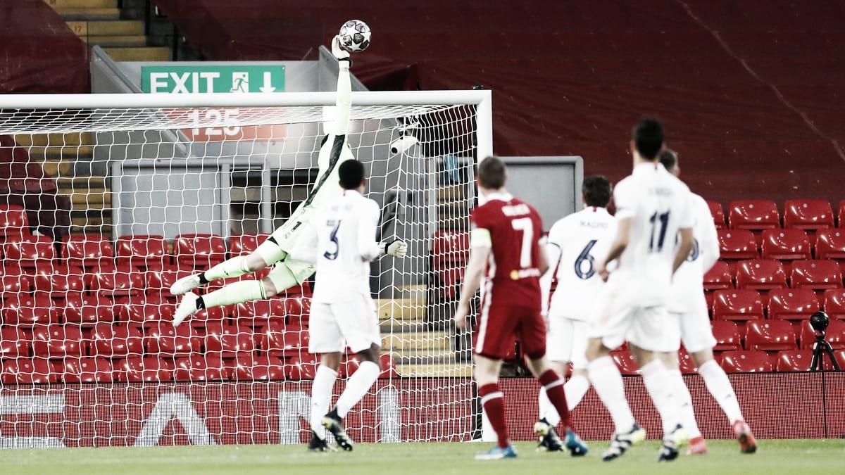 Liverpool - Real Madrid: puntuaciones del Real Madrid en los cuartos de final de Champions