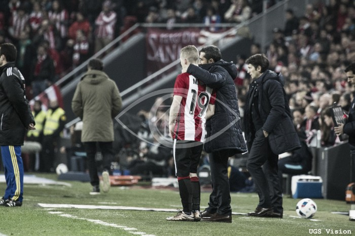 Athletic Club - FC Barcelona: puntuaciones del Athletic, ida de cuartos de la Copa del Rey