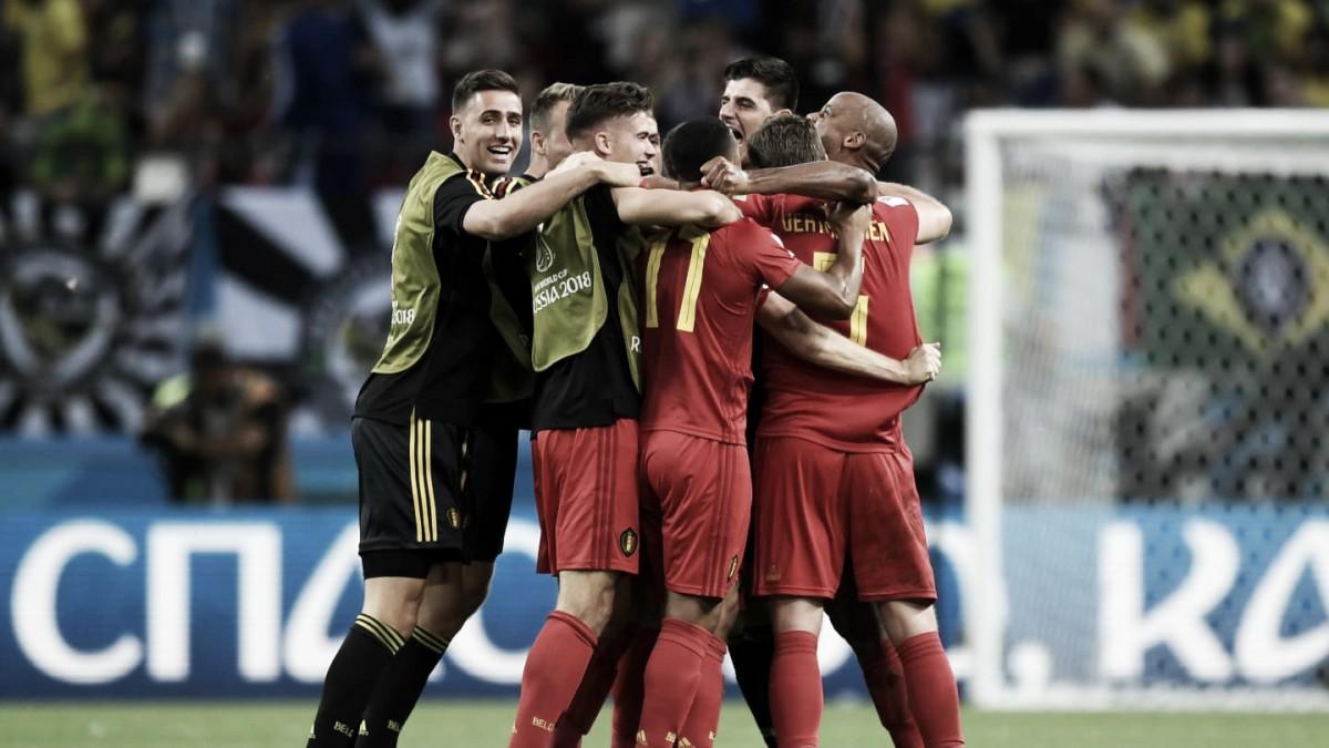 Brasil – Bélgica, puntuaciones de Bélgica cuartos de final, Mundial Rusia 2018