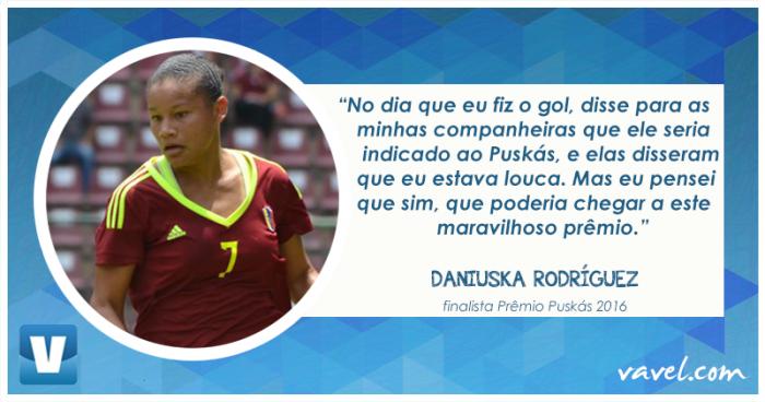 VAVEL Entrevista: Daniuska Rodríguez, finalista do Prêmio Puskás 2016