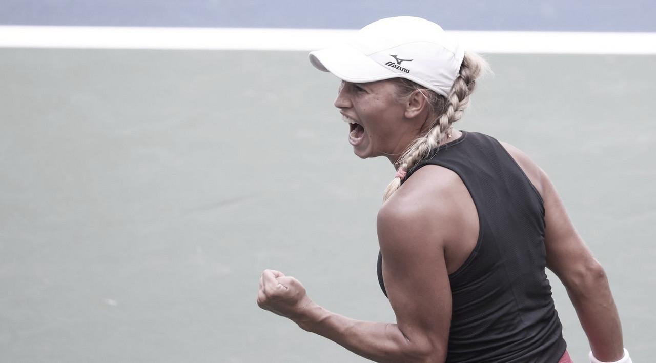 Putintseva supera Martic e avança pela primeira vez às quartas do US Open