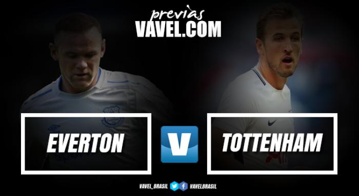 Everton e Tottenham se enfrentam em busca de aproximação dos líderes