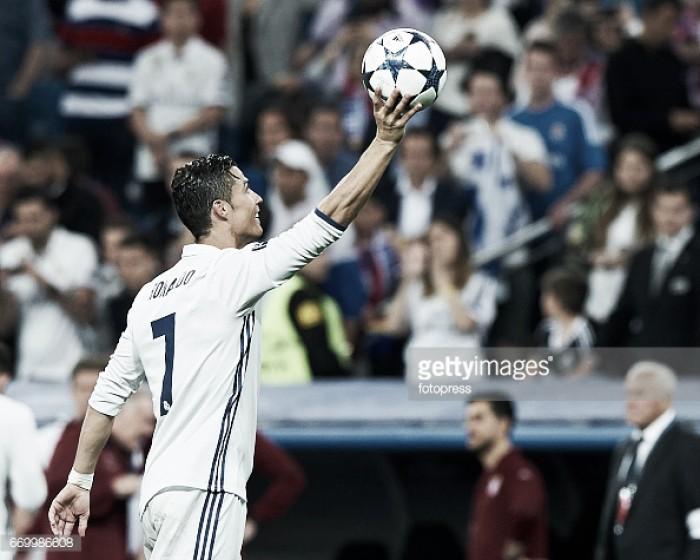 Cristiano marciano desce à terra e esmaga Bayern
