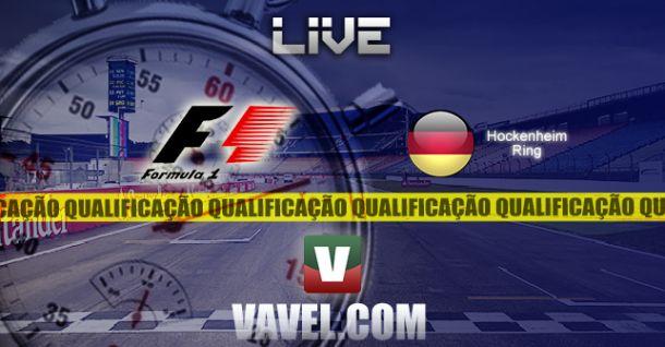 Qualificação GP da Alemanha de F1, direto