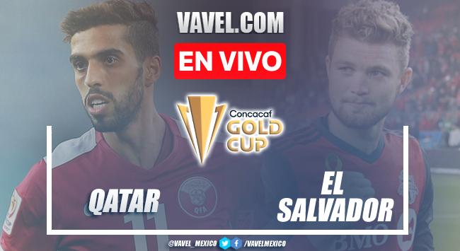 Goles y resumen del Qatar 3-2 El Salvadoren Copa Oro 2021