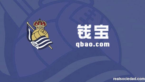 Qbao.com seguirá como patrocinador principal de la Real hasta 2020