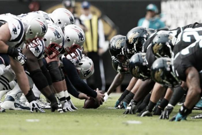 Brady x Sacksonville: Patriots e Jaguars decidem vaga no Super Bowl pela AFC