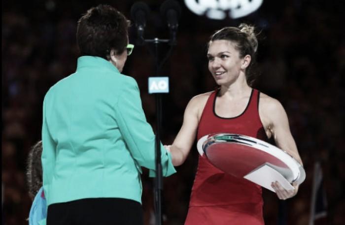 """Simona Halep: """"Triste por ainda não ter conseguido vencer, mas espero que a quarta seja de vez"""""""
