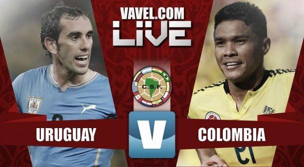 Resultado Uruguay - Colombia en Eliminatorias a Rusia 2018 (3-0)