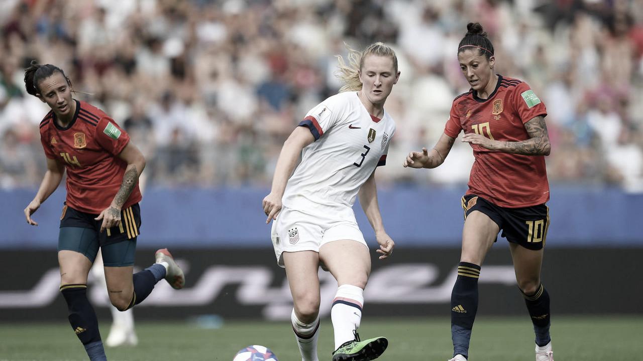España - Estados Unidos: puntuaciones de España, octavos de final del Mundial Femenino de Francia 2019