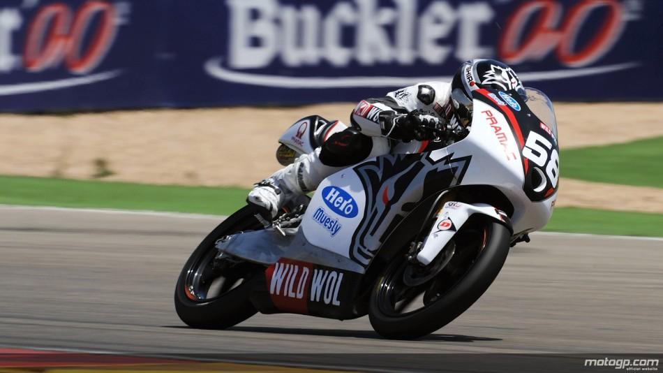 Moto3: Juanfran Guevara se lleva su primera pole