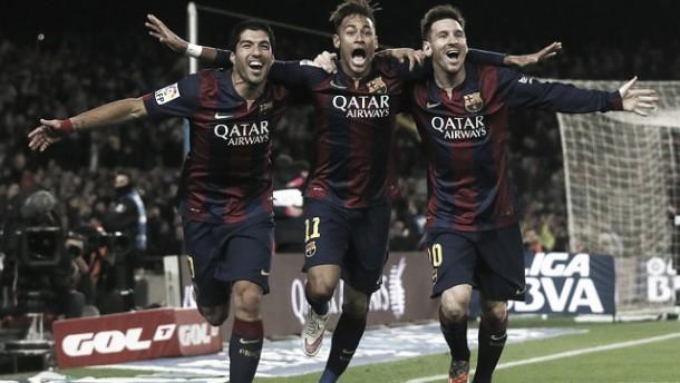 El tridente lleva más goles que todo el Real Madrid en 2015