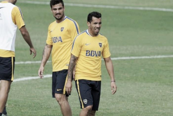 Resguardo para Tevez y Osvaldo