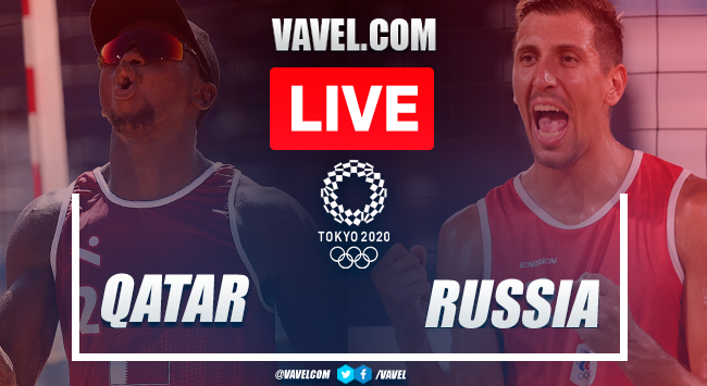 Highlights: Qatar 0-2 Russia in Semifinals Men's Beach Volleyball Olympic Games 2020
