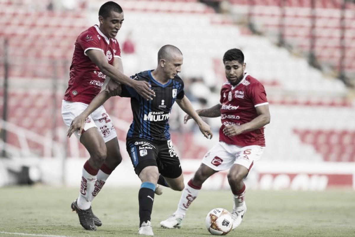 Gallos pica a los Mineros y los deja fuera de la Copa MX(1-2)