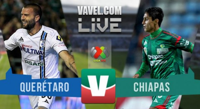 Resultado y goles del Querétaro 2-2 Chiapas de la Liga MX 2017