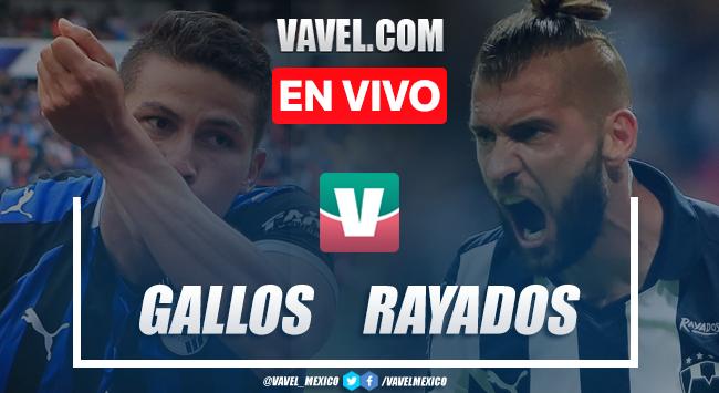 Goles y resumen: Querétaro 2-1 Monterrey en Liga MX 2019