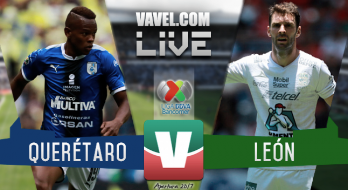 Resultado y goles del Querétaro vs León de la Liga MX 2017