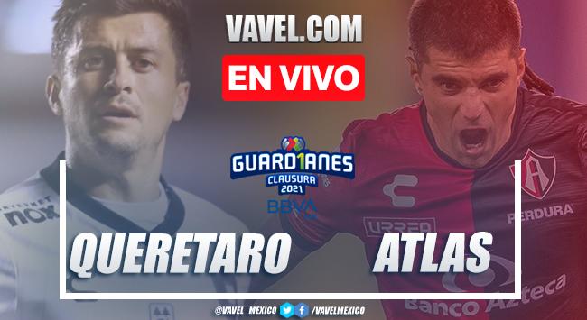 Resumen y gol: Querétaro 1-0 Atlas en Liga MX Guard1anes 2021