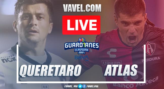 Goal and Highlights: Queretaro 1-0 Atlas, 2021 Liga MX