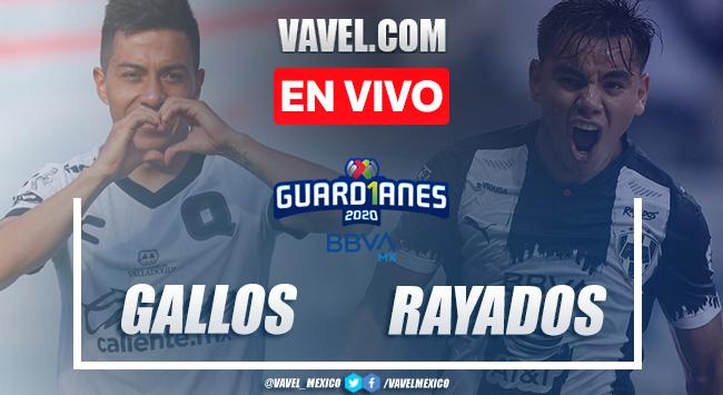 Goles y resumen: Querétaro 1-2 Monterrey en Guardianes 2020