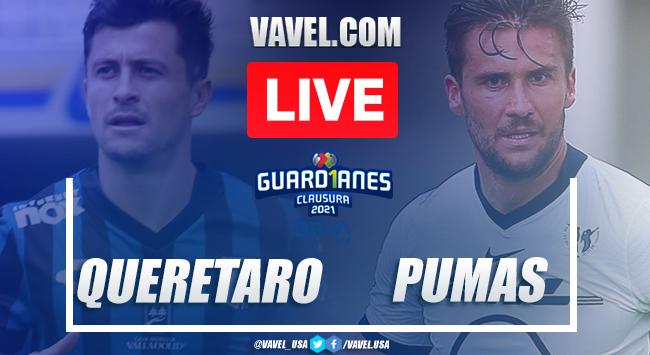 Goals and Highlights Queretaro 2-0 Pumas, 2020 Liga MX