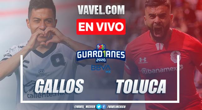 Querétaro 4-1 Toluca: goles y resumen Liga MX 2020
