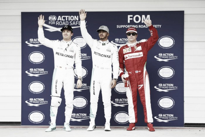Lewis Hamilton domina treino de classificação para o GP do Brasil